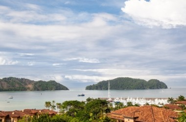 Herradura Costa Rica - Montebello – Panoramic Marina and Ocean Views Top Floor Corner Residence