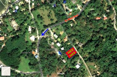 Coxen Hole Honduras - .257 Lot in Sandy Bay, Easy to Build On