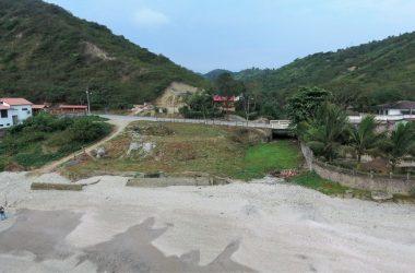 Olon Ecuador - Las Piscinas De La Marea: Oceanfront Home Construction Site For Sale in Olón