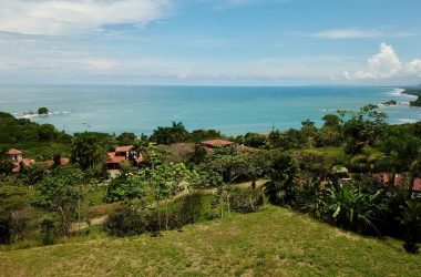 - Panoramic Ocean View Lot in Secure Community Near Dominical