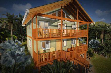 Honduras - Tropical Views Home Villagio Verde, West End