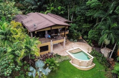 Uvita Costa Rica - 1.25 ACRES – 3 Bedroom Luxury Ocean View Home With Pool In Gated Community!!!