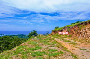 Honduras - Ocean view lot 78C Coral Views Village, Roatan