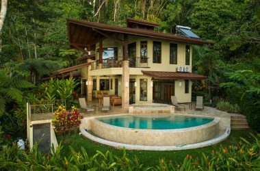 Uvita Costa Rica - 2.69 ACRES – 4 Bedroom Tropical Luxury Sunset Ocean View Home With Infinity Pool!!!