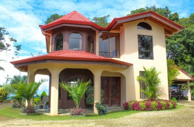 Ojochal Costa Rica - 6.33 ACRES – 4 Bedroom Ocean View Home, Fully Furnished, Very Private!!!