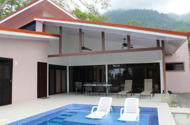 Ojochal Costa Rica - 0.15 ACRES – 2 Bedroom Fully Furnished Brand New Home With Pool And Ocean View!!!