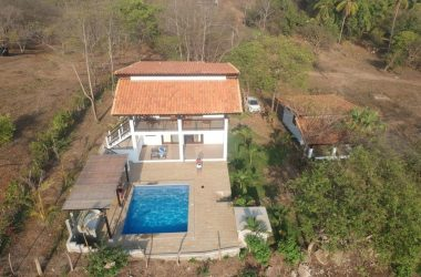 Aposentillo Nicaragua - New Home and Casita with Surf View of Nahualapa Bay
