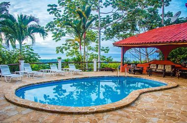 Hatillo Costa Rica - 2.85 ACRES – 6 Bedroom Ocean View Estate Property With Pool And Creek!!!