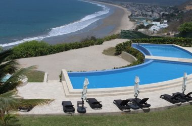Ayangue Ecuador - Spectacular Panoramic Ocean View Perched on a Hill Overlooking Miles of Shore Line