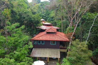 Dominical Costa Rica - 13.5 ACRES – 7 Bedroom Bali Style Estate Built On River With Multiple Waterfalls, Perfect For BnB Or Boutique Hotel!!!!!