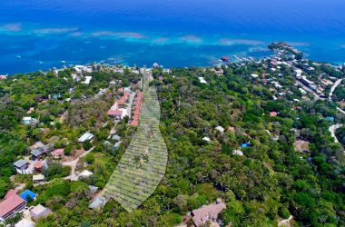 Honduras - Crystal Beach 7.8 Acres on the beach | Tourist destination