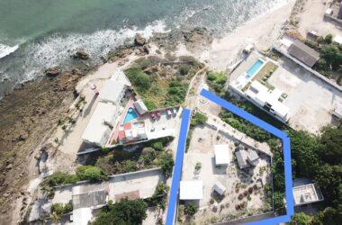 Ballenita Ecuador - Ballenita Ocean Front Property 2500m2 – Very Unique Property with its Own Malecon
