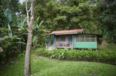 Dominical Costa Rica - 1.45 ACRES – 1 Bedroom Cabin With Ocean And Mountain Views, Very Usable Land, Waterfall Acess!!!