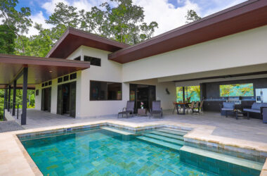 Uvita Costa Rica - Great Living with Ocean and Whales Tail Views in Uvita