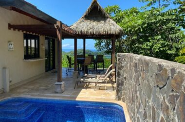 Dominical Costa Rica - CONDO – 2 Bedroom Canto Del Mar Villa With Epic Ocean View And Dipping Pool!!!!