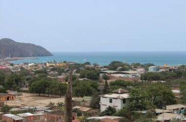 Puerto Lopez Ecuador - Nestled in the Hills Overlooking Puerto Lopez and the Ocean