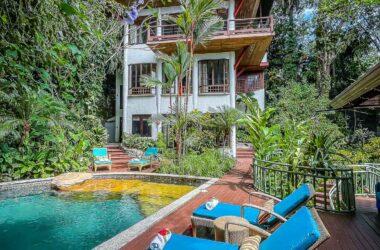Manuel Antonio Costa Rica - 0.35 ACRES – 6 Bedroom Home With Pool And Iconic Manuel Antonio Park Ocean View!!!!!