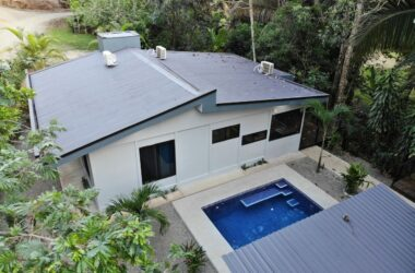 uvita Costa Rica - 0.29 ACRES – 3 Bedroom Brand New Home With Pool In Fabulous Rainforest Settling, Walk To The Beach!!!!