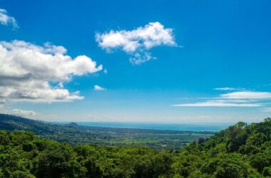 MATAPALO Costa Rica - 5.25 ACRES – Ocean View Property With Large Building Site, Tons Of Usable Land, Legal Water!!!!