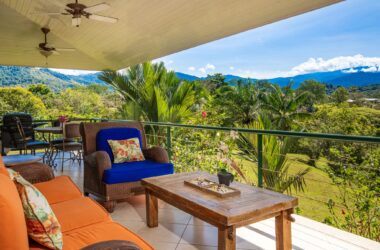 MANUEL ANTONIO Costa Rica - 1.14 ACRES – 3 Bedroom With Fabulous Mountain View In Gated Community!!!